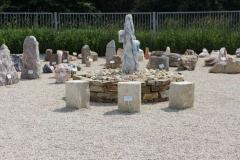 Ausstellung Lange - Felsengarten