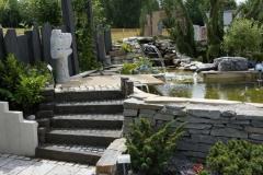 Ausstellung Lange - Teichanlage